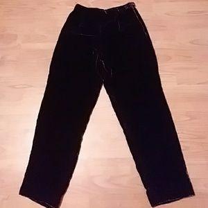 NWOT BRAND NEW velvet pants